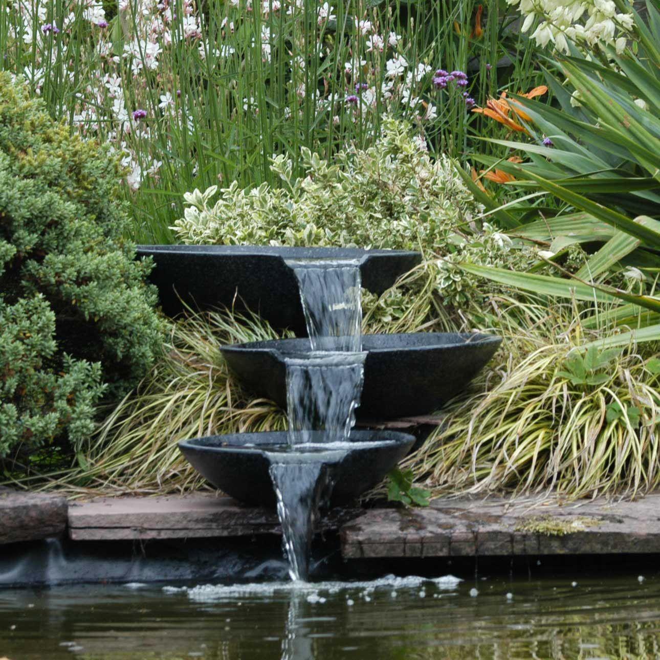 Bassin Fontaine De Jardin bassin et fontaine relaxant jardin | fontaine de jardin