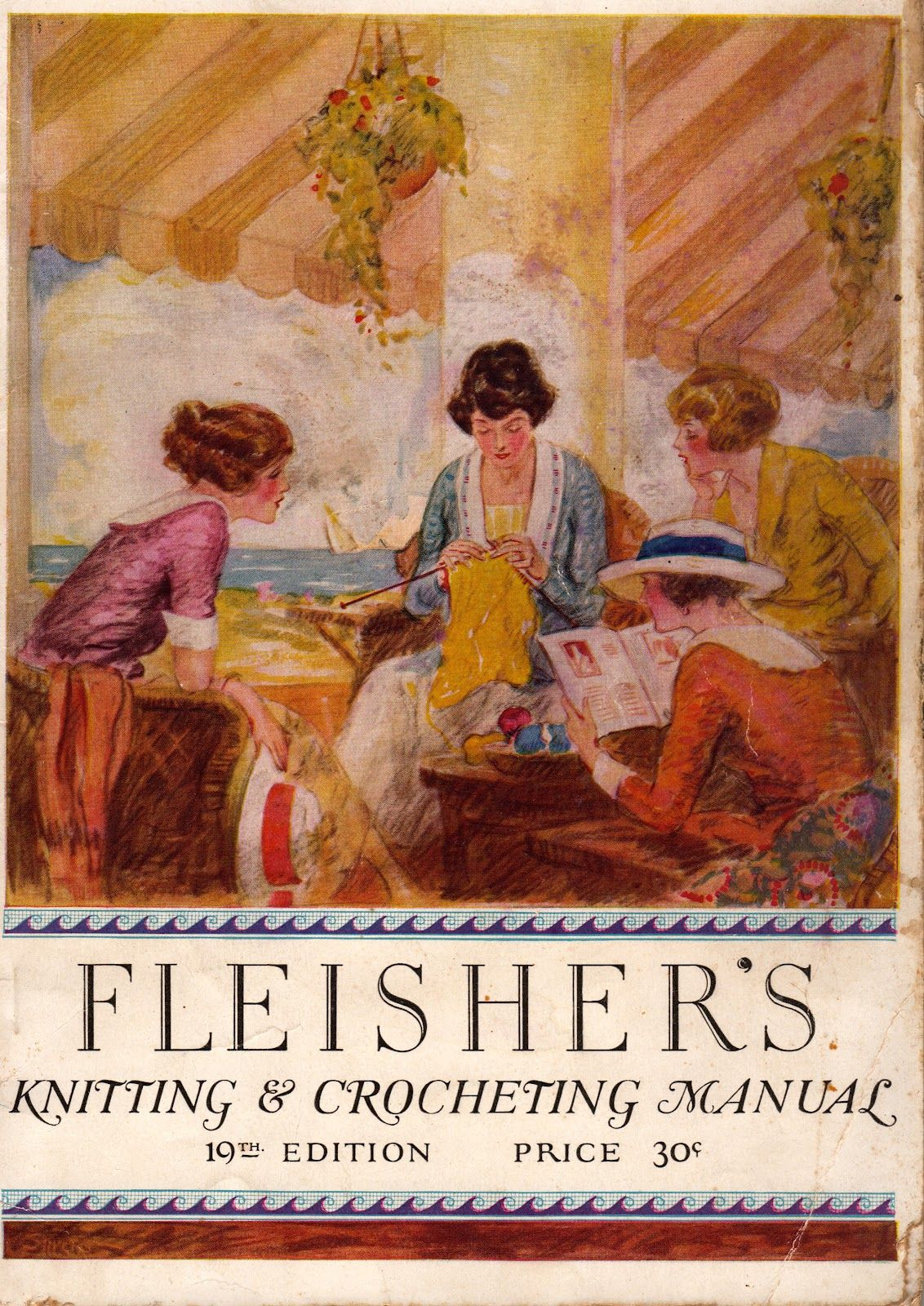 summer knitting manual