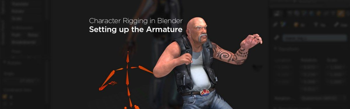 How to Create Your First Character Rig in Blender: Part 1 - Setting up the Armature