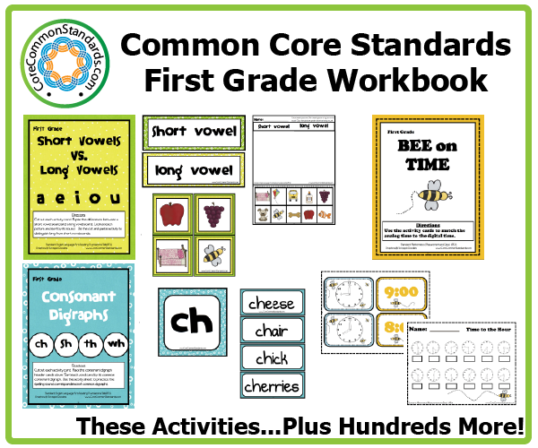 First Grade Common Core Workbook Download | Instructional Leadership