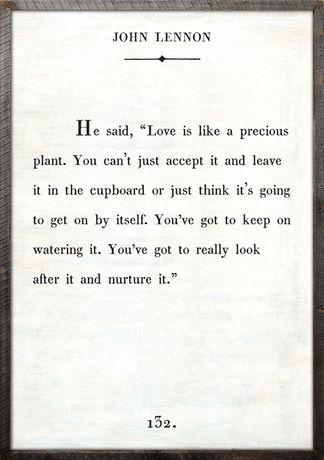 john lennon quote love precious relationships