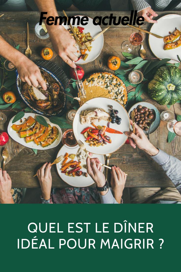 Régime : que faut-il manger le soir pour maigrir ?   Idée