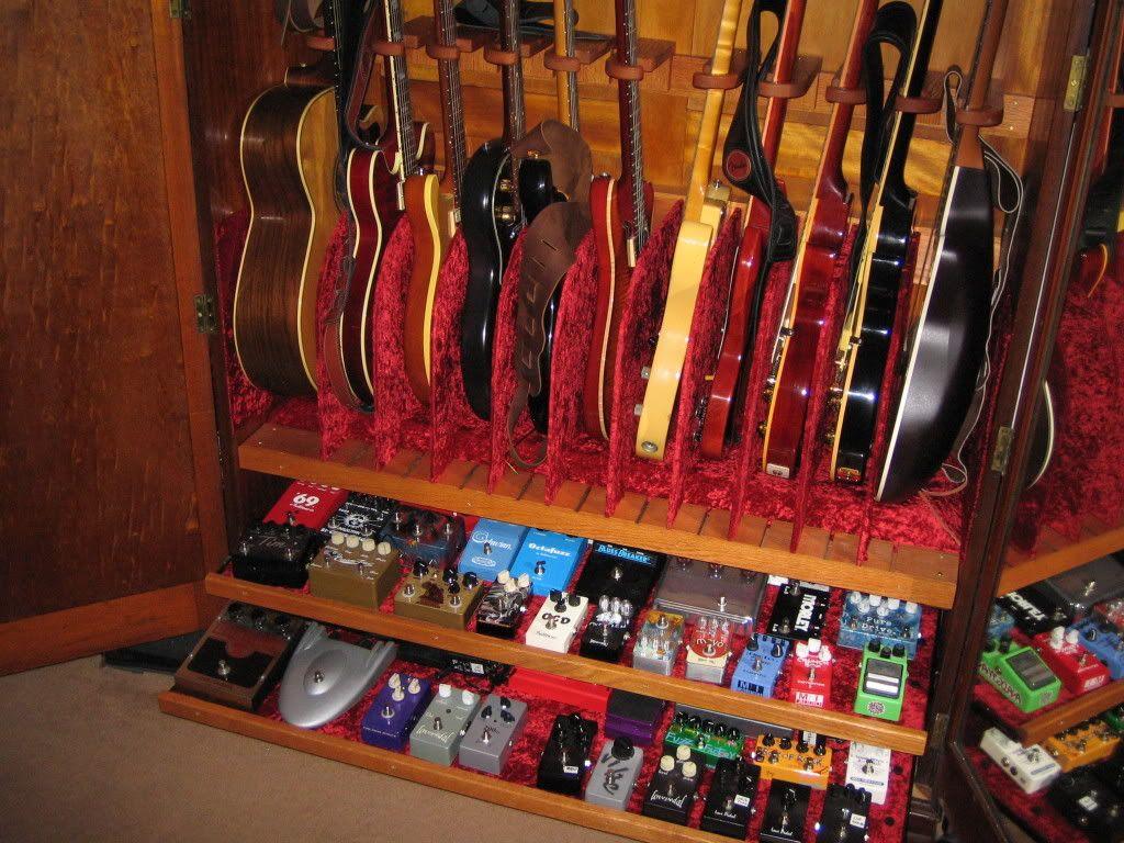 Guitar Armoire   Home Furniture Design