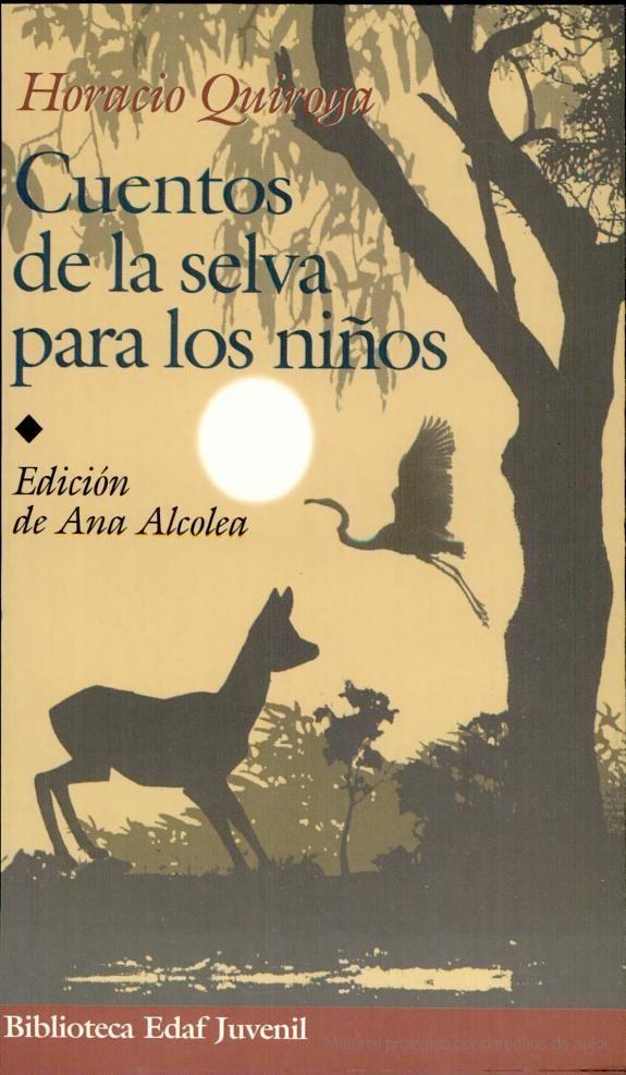 Cuentos De La Selva Para Los Niños Libros Portadas De Libros Cuentos