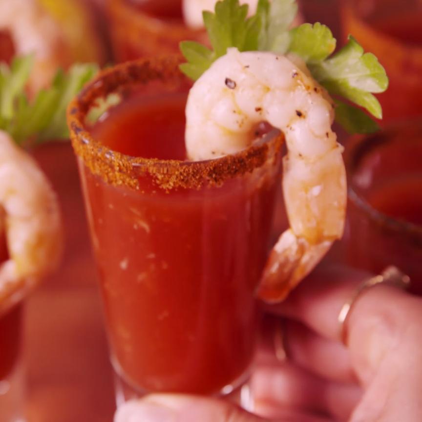 Like shrimp cocktail but way more fun.