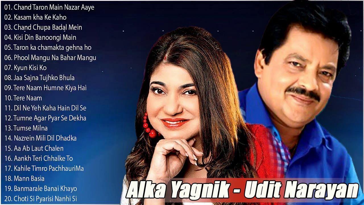 Music India Bollywood Hindi Songs Best Of Udit Narayan And Alka Yagnik Evergreen Melodies 90 S Romantic Udit Narayan Hindi Old Songs Romantic Songs