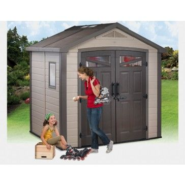 Resin Garden Sheds Are Some Of The Most Stylish And Easiest Sheds On The Market Tough As Nails But Looks So Sweet Resin Garden Shed Simple Shed Cheap Sheds