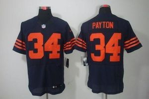 297692c49d3 Nike Bears #34 Walter Payton Navy Blue Alternate Men's Stitched NFL Elite  Jersey
