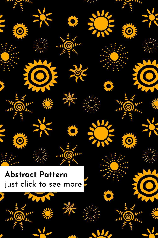 Sun Patterns Bundle Abstract Pattern Yellow Aesthetic Star Wallpaper