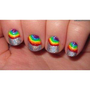 Short Acrylic Nails For Kids Kids Nail Designs Rainbow Nail Art Designs Rainbow Nails
