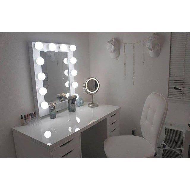 Impressions Vanity Hollywood Chic Xl Vanity Mirror Makeup Vanities