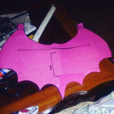 diy bat wing template pattern lorvonharlot personal projects