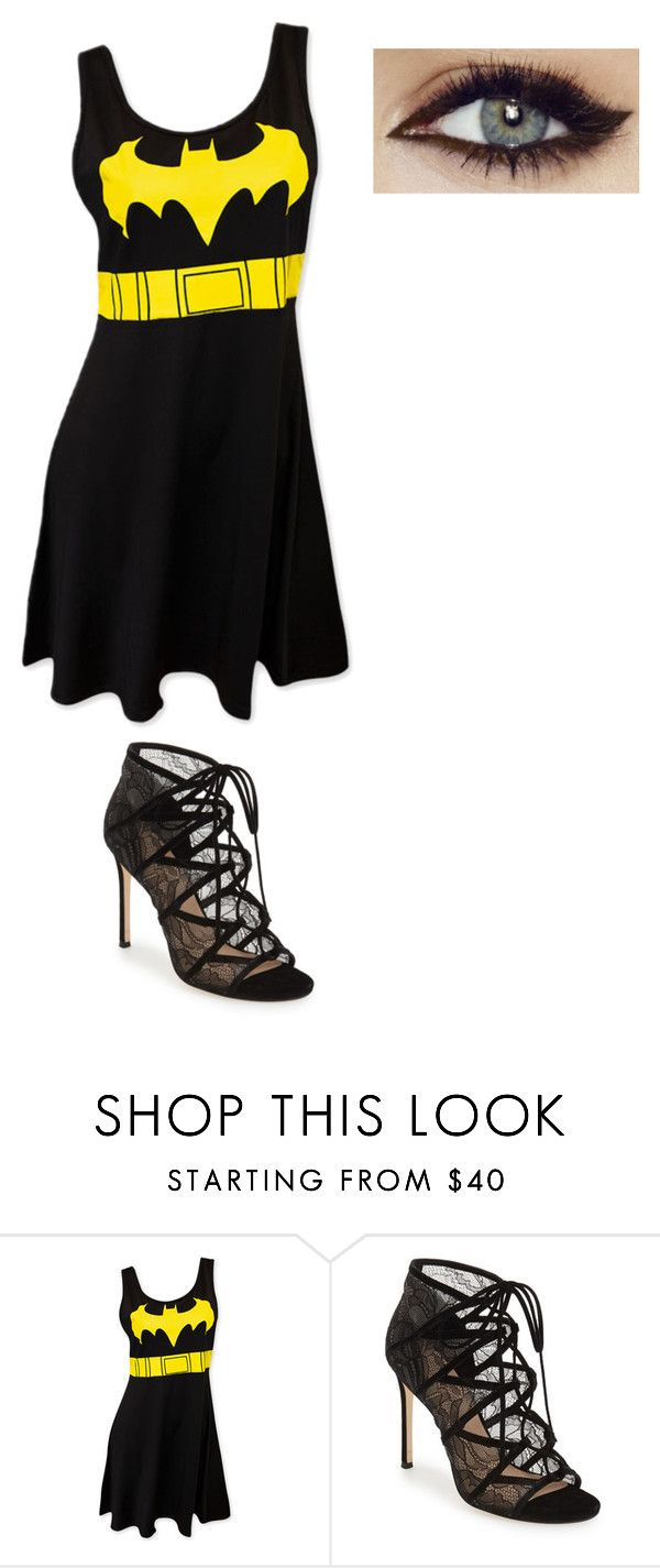 """""""Batman Party With Andy Black"""" by holly-147 on Polyvore featuring Pour La Victoire"""