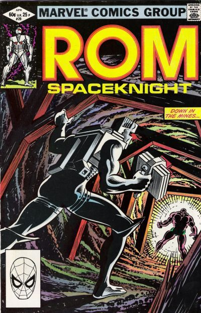 Rom: Space Knight # 29 by Al Milgrom & Joe Sinnott