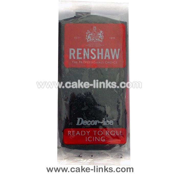 Jet Black - Decor-Ice Sugarpaste  185 Online ( 199 in store
