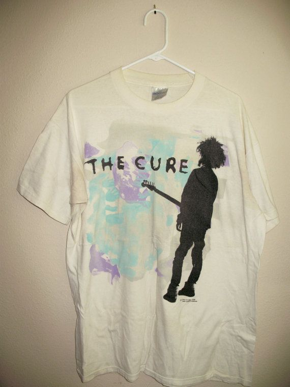 Vintage The Cure Tee XL AaXBuEnix1