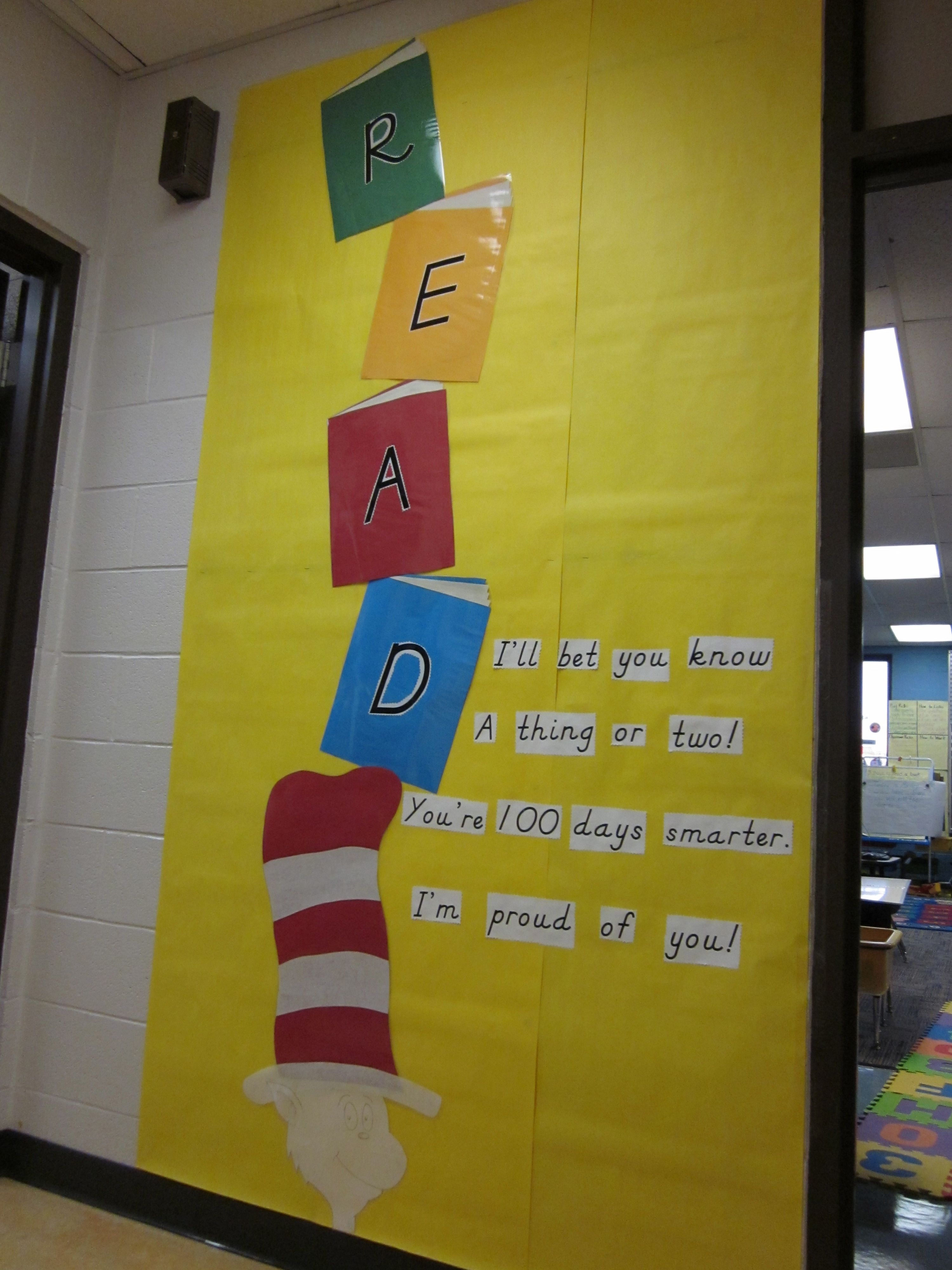 Dr Seuss Cat In The Hat Classroom Display