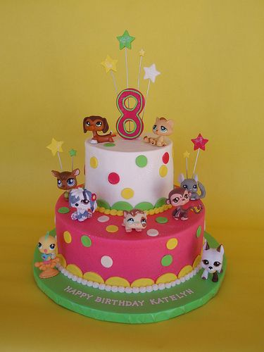 Brilliant Littlest Pet Shop Birthday Cake With Images Lps Cakes Funny Birthday Cards Online Elaedamsfinfo