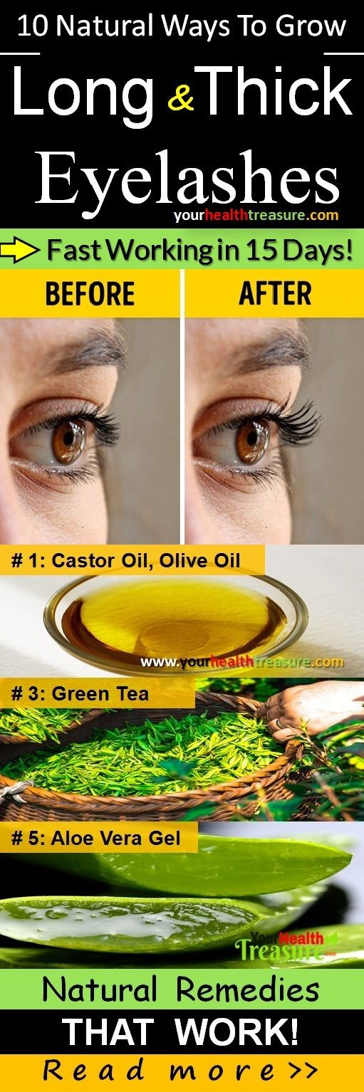 10 Ways To Grow Longer Eyelashes Fast Naturally In 15 Days Long