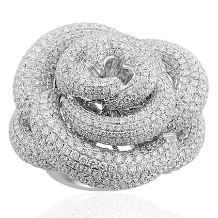 ILIANA 18K W Gold Diamond Ring £4,389.95
