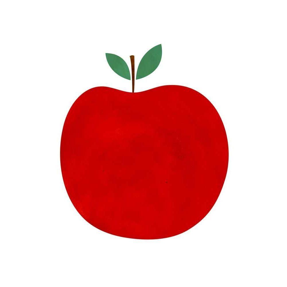 Décoration murale pour les chambres d'enfants : poster Pomme Blanca on