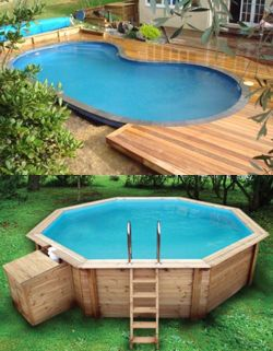 Piscinas rusticas modelos deco pinterest piscinas - Piscinas rusticas ...