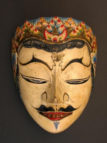 Indonesian Masks | Indonesia Spots | Masks art, Tribal ...