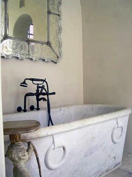 A gorgeous tub!