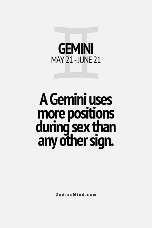 Gemini..... Anyone cares to find out? lol!