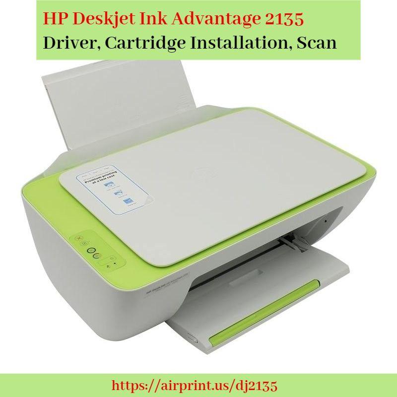 Hp Deskjet Ink Advantage 2135 Driver Cartridge Installation Scan Hp Printer Installation Black Ink Cartridge