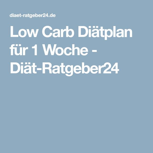 Low Carb Diatplan Fur 1 Woche Diat Ratgeber24 Low Carb