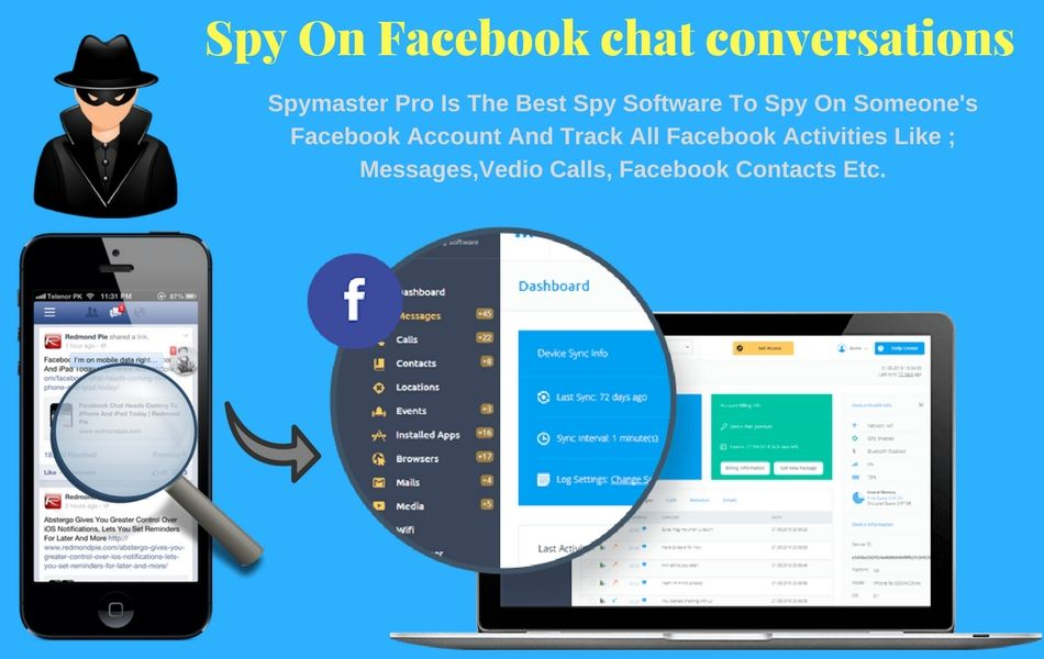 With this unique Spymaster Pro app, users can Read others