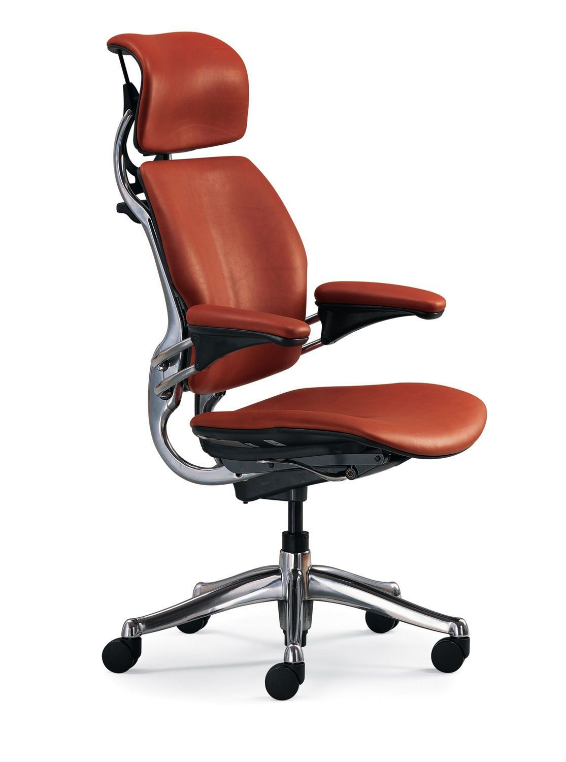 Design Your Own Leather Humanscale Freedom Chair Selecting From Gorgeous High End Leathers And The Most Highly Desired Options