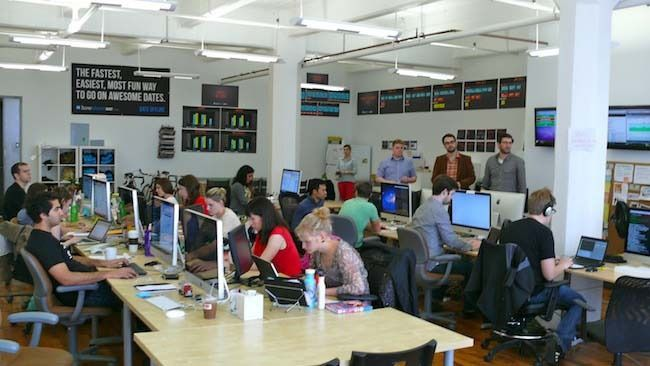 Mashable: 13 Hot Startups With Inspired Office Design -- Check out HowAboutWe at #12