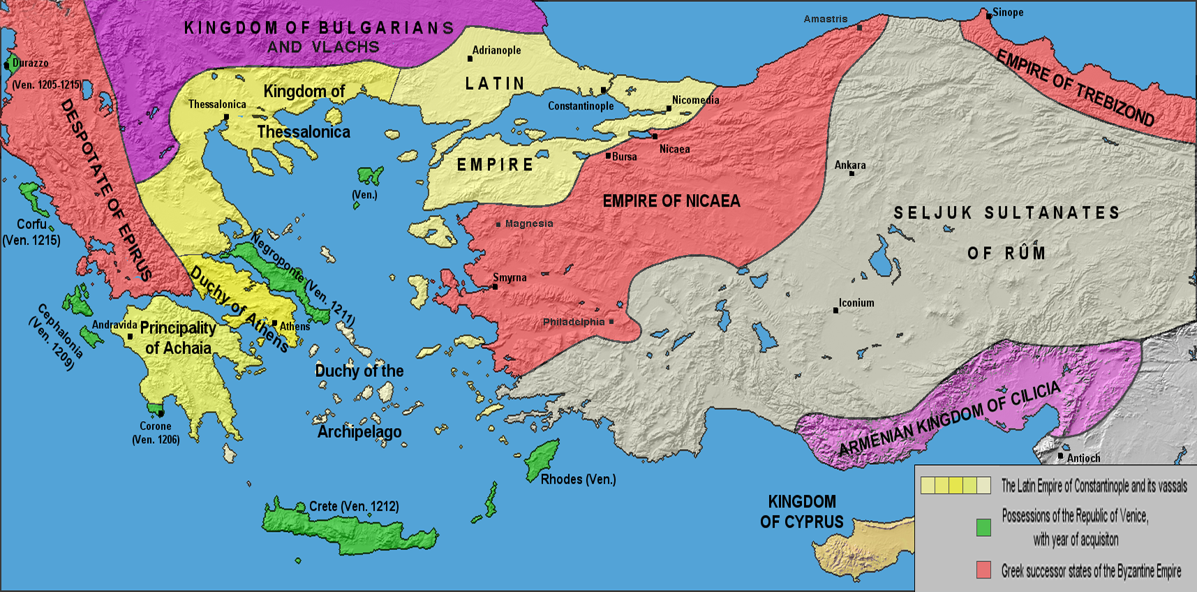 Image result for map of byzantine empire 1204 seni marikh sejarah image result for map of byzantine empire 1204 publicscrutiny Choice Image