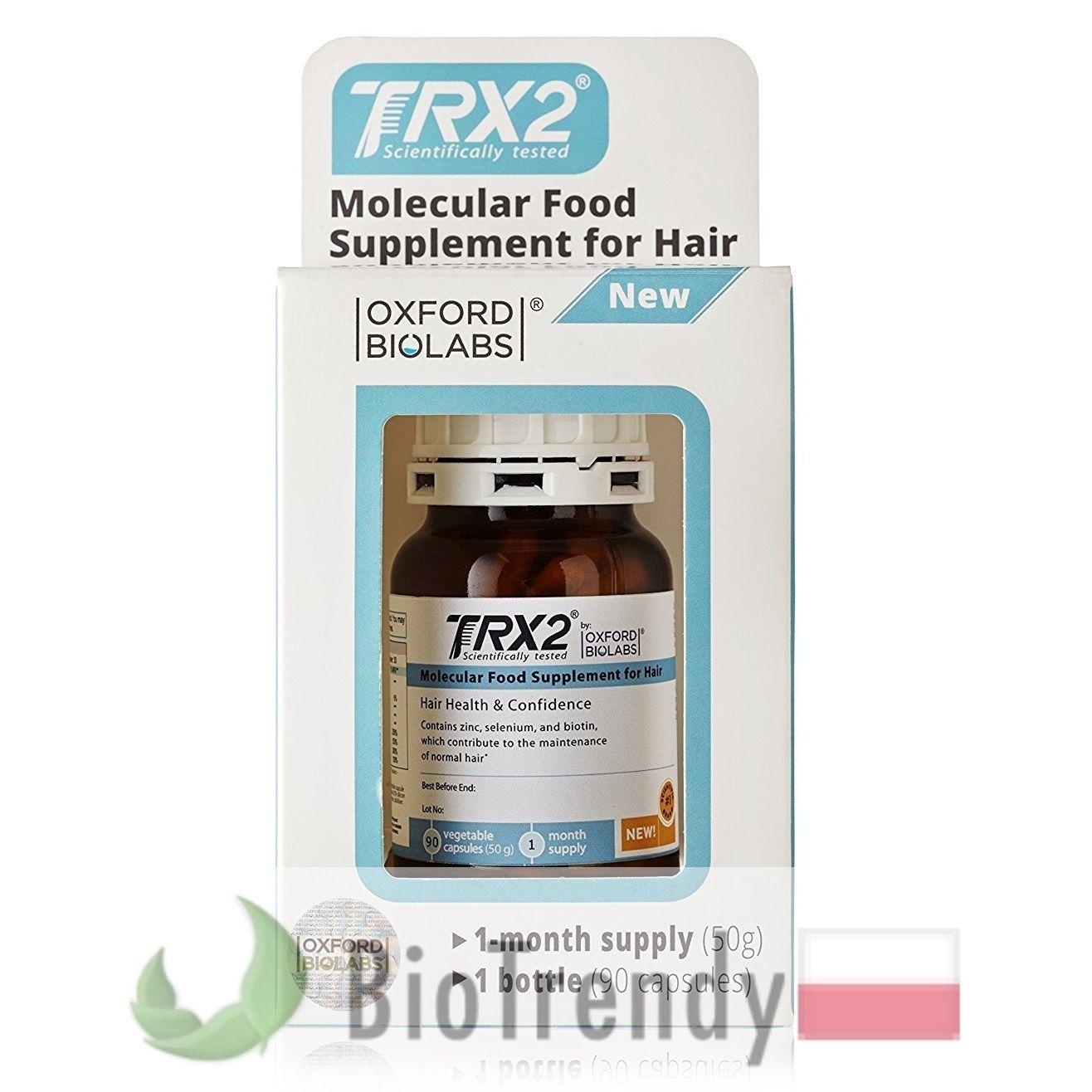 TRX2 tabletki na porost włosów Na porost włosów