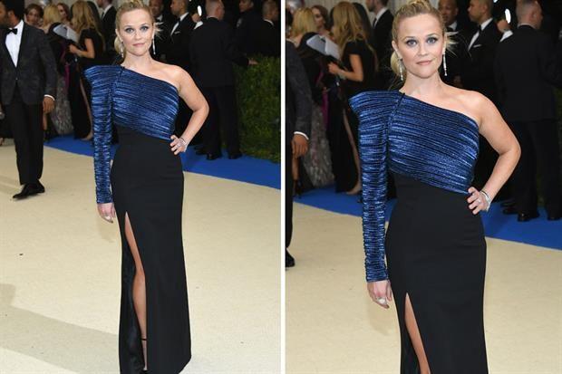 Reese Whiterspoon por ugler. Gala Met 2017.