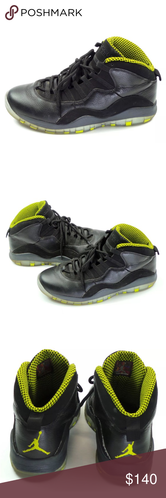 887e26570a4f64 Nike Air JORDAN Retro 10 X 310805-033 Sneakers