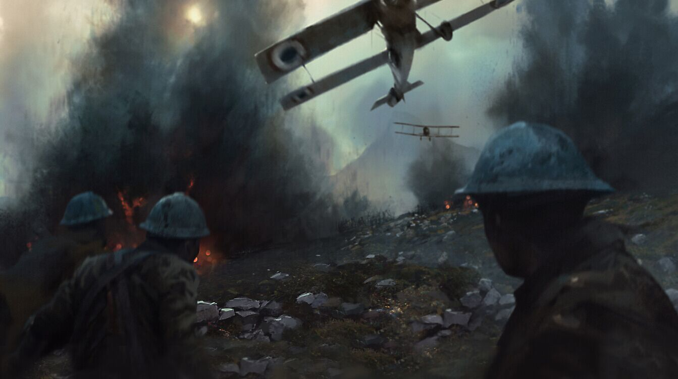 Battlefield 1 Concept Art - No Watermarks   The Art of Video