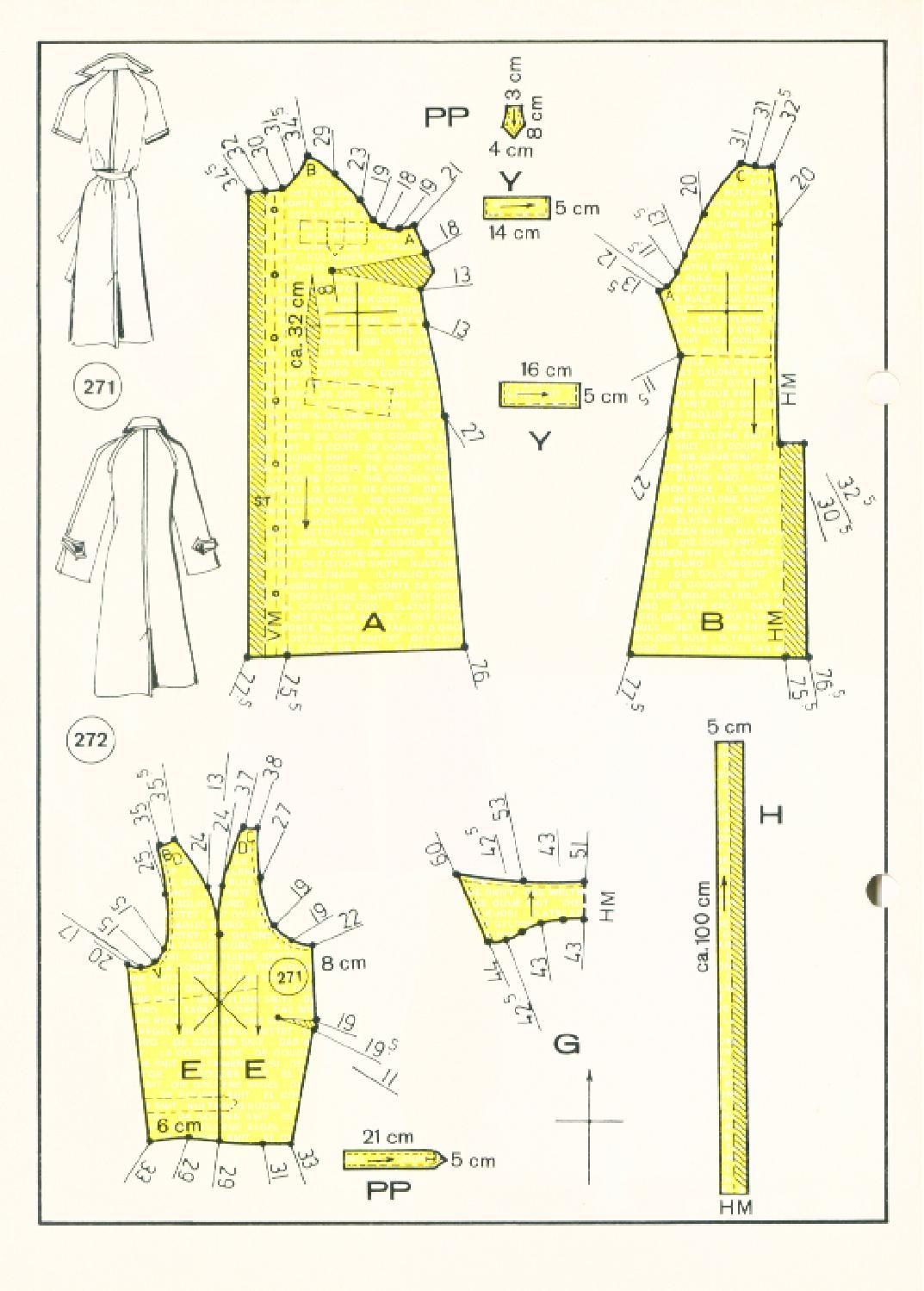 Vintage Sewing Patterns 146 autumn 1977 Patternmaking | corte de oro ...