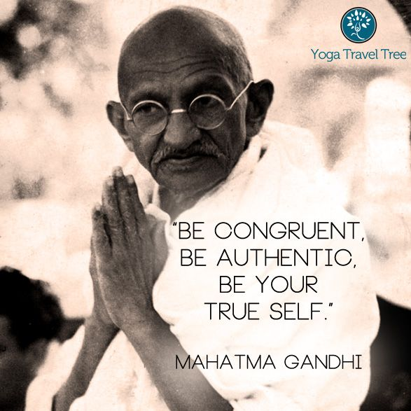Click here for more fantastic quotes from Mahatma Gandhi - #yoga #findyouryoga www.YogaTravelTree.com