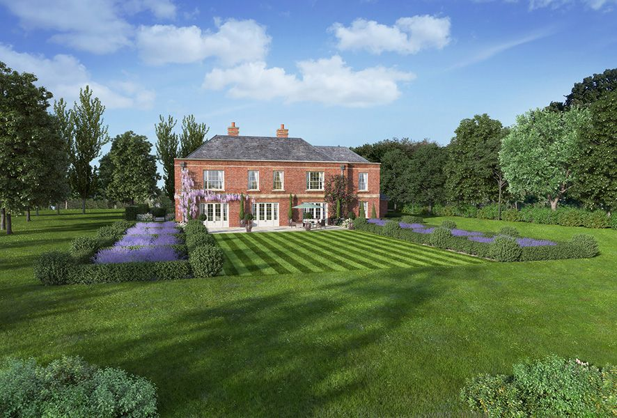 We gained planning permission in March 2017 for a new 5,000 sq. ft. dwelling at Rexford House for our clients, Sherborne Developments.