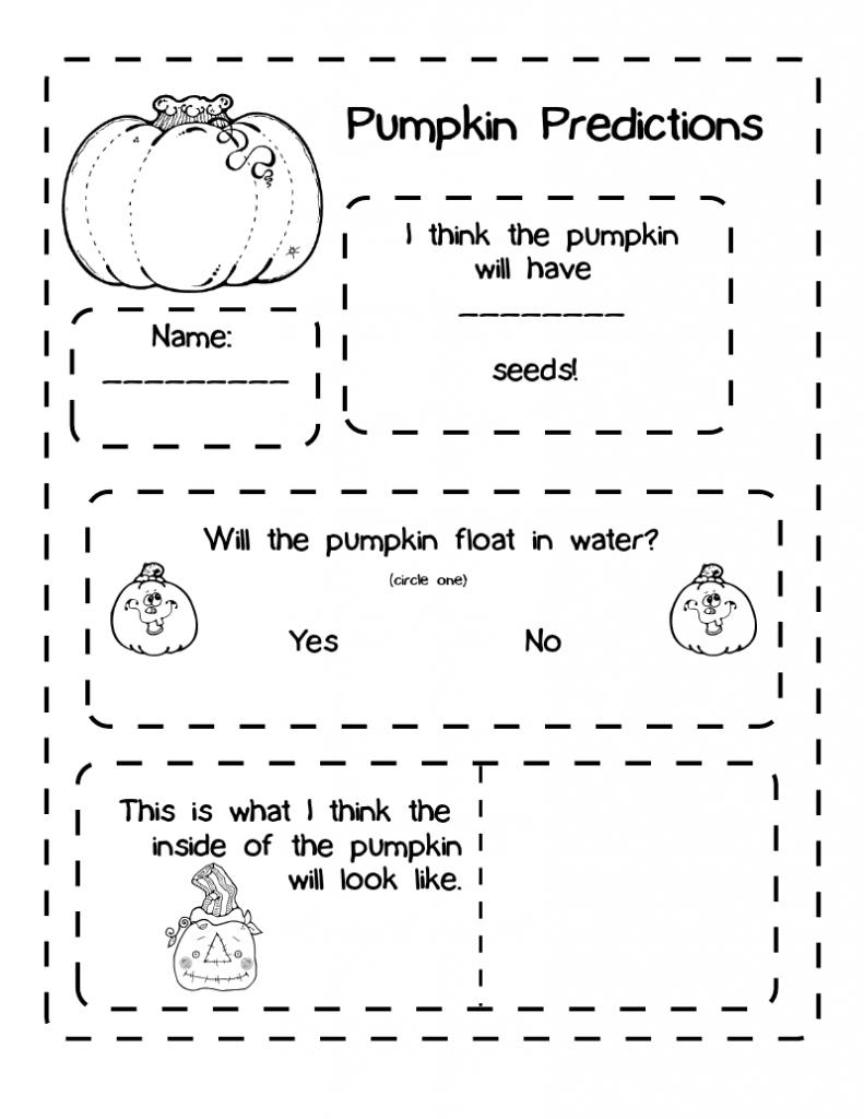 Pumpkin Science And Pumpkin Puree Matematika Anak [ 1024 x 791 Pixel ]