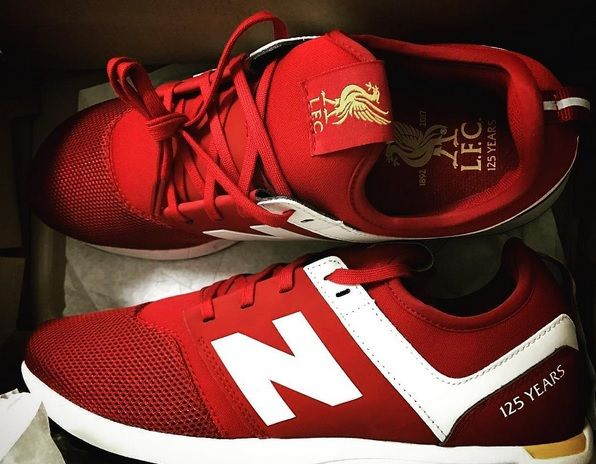 Liverpool FC - 125 Years New Balance shoes | รองเท้าผ้าใบ | รองเท้าผ้าใบ
