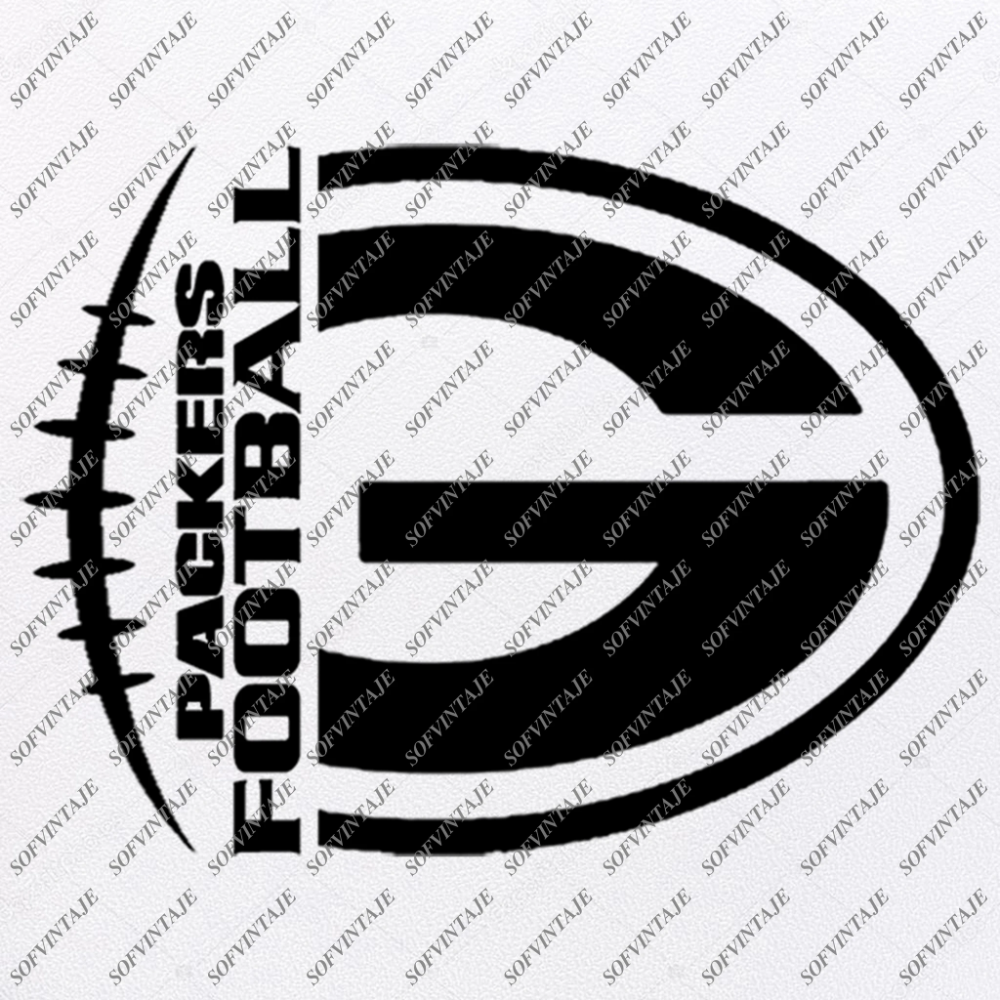 Packers Football Svg File Football Svg Football Clip Art Vector Graphics Svg For Cricut Svg For Silhouette Svg Eps Pdf Dxf Png