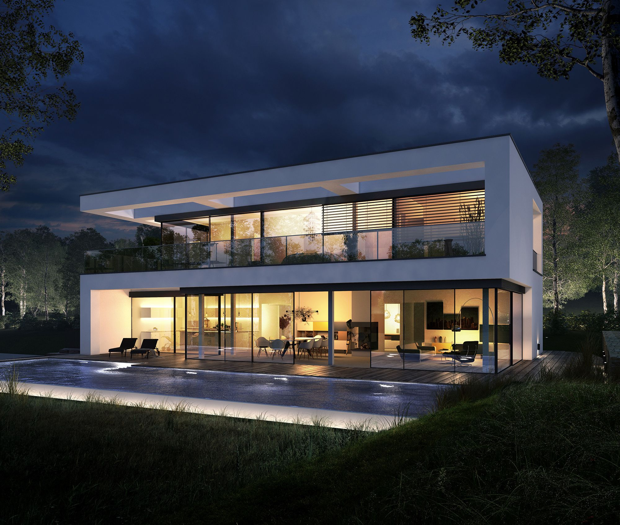 OKAL Haus | Architecture | Pinterest | Architecture, House and Villas