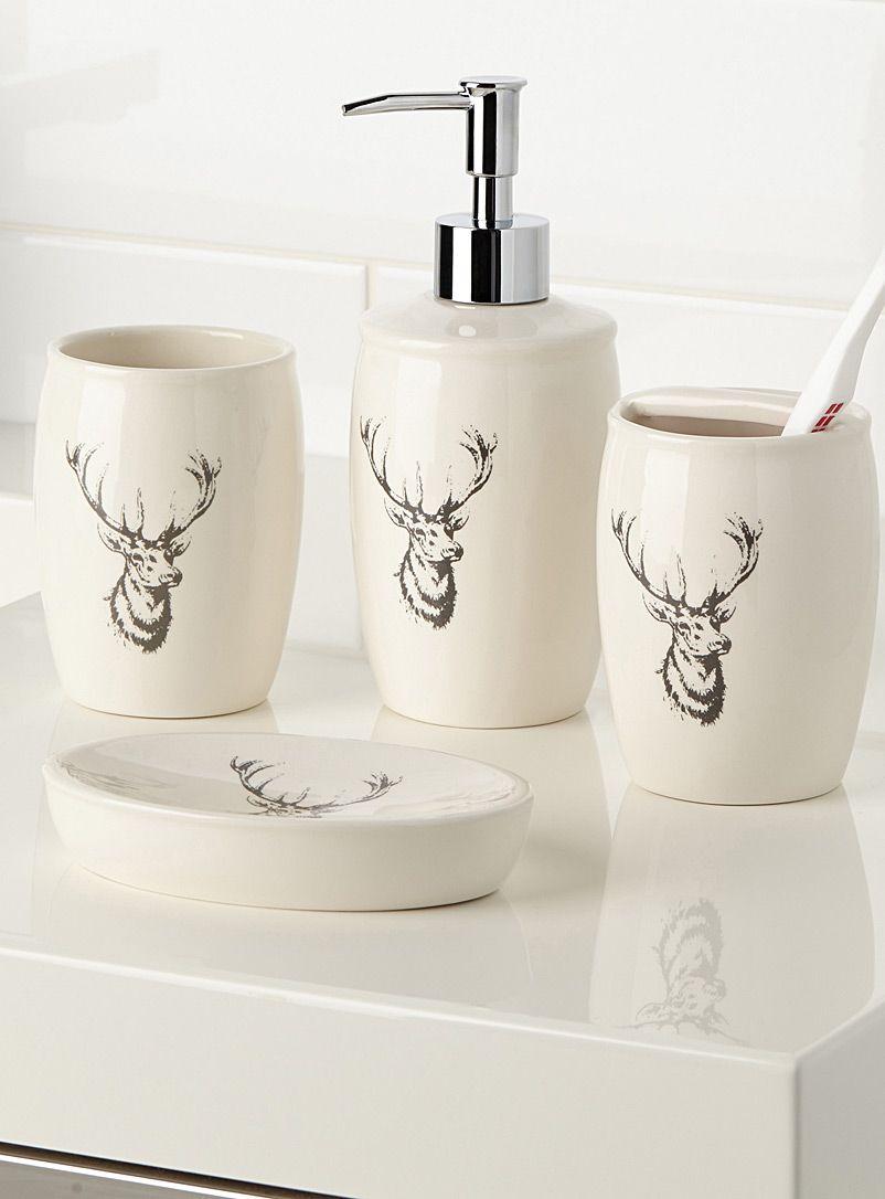 Deer motif accessories | Simons Maison | Shop Soap Dishes ...