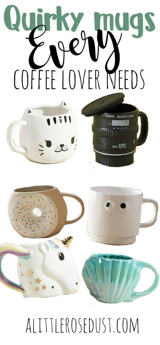 Quirky mugs every coffee lover needs! - thecaitycollective ...
