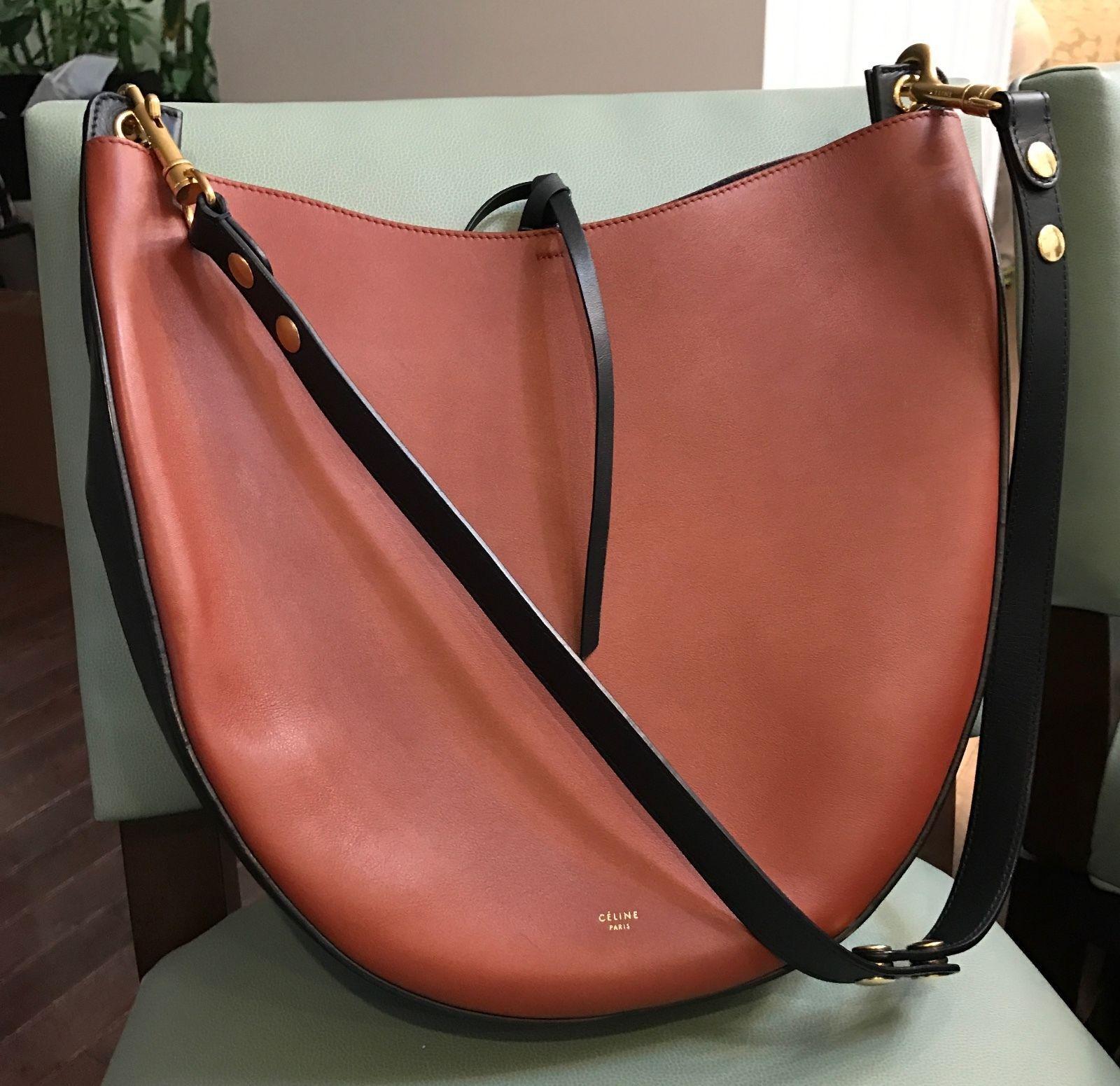 Trending - Celine Bi Color Hobo Handbag In Palmelato Leather https   t 23d1e780d21f6