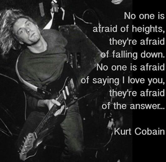 Nirvana Kurt Cobain Quotes IMages